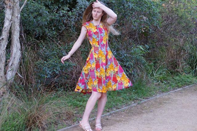 Antipodean Stitcher: The Making Summer Happen Dress
