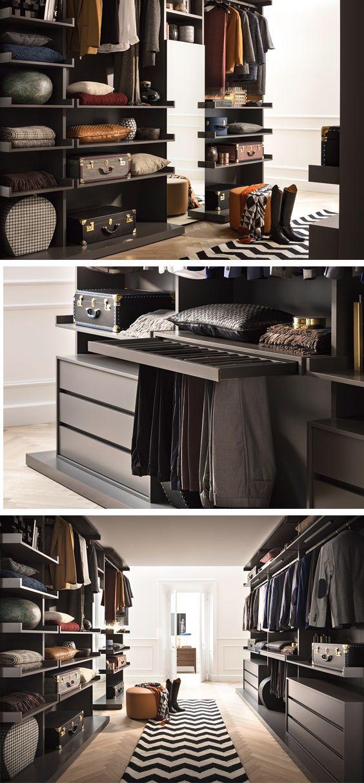 57 besten u003eu003e Kleiderschränke u003cu003c Bilder auf Pinterest - begehbarer kleiderschrank system modern