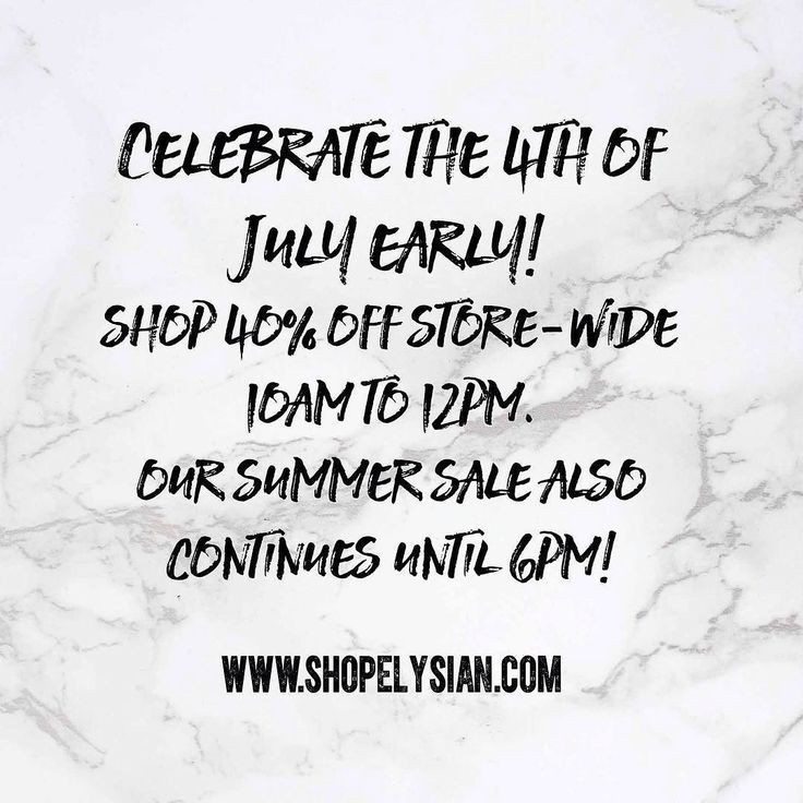 Surprise!!!  We have even more good news! Today the store is 40% off 10 am till 12 pm! Then it's still 20% off noon till close! New items excluded. Not valid on previous purchases. All sales final. #WearElysianDaily #Summer #Sale #shoplocal #downtownbentonville http://ift.tt/2tvFm1z Surprise!!!  We have even more good news! Today the store is 40% off 10 am till 12 pm! Then it's still 20% off noon till close! New items excluded. Not valid on previous purchases. All sales final…