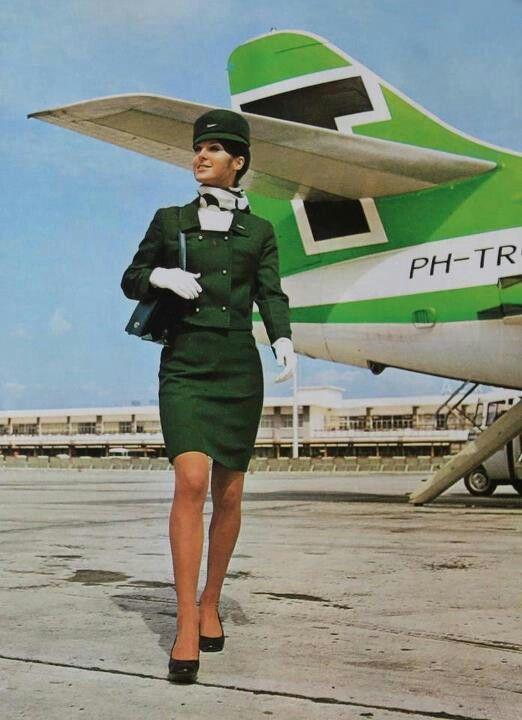 "Dutch airlines ""Transavia"" with SE-210 Caravelle 6R #vintage"