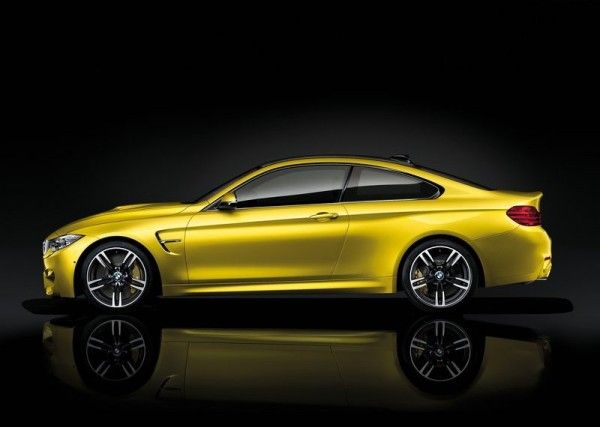 2015 BMW M4 Coupe Side Images 600x427 2015 BMW M4 Coupe Full Reviews with Images