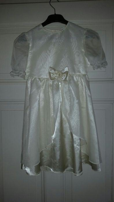Festliches Kleid Cremefarbig