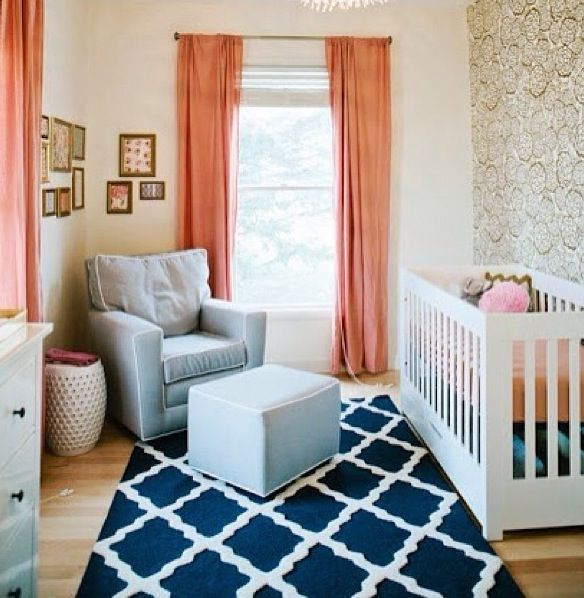 Girl Nursery Color Combo Not Just For A I Would Do This In My Living Room Or Office Guest