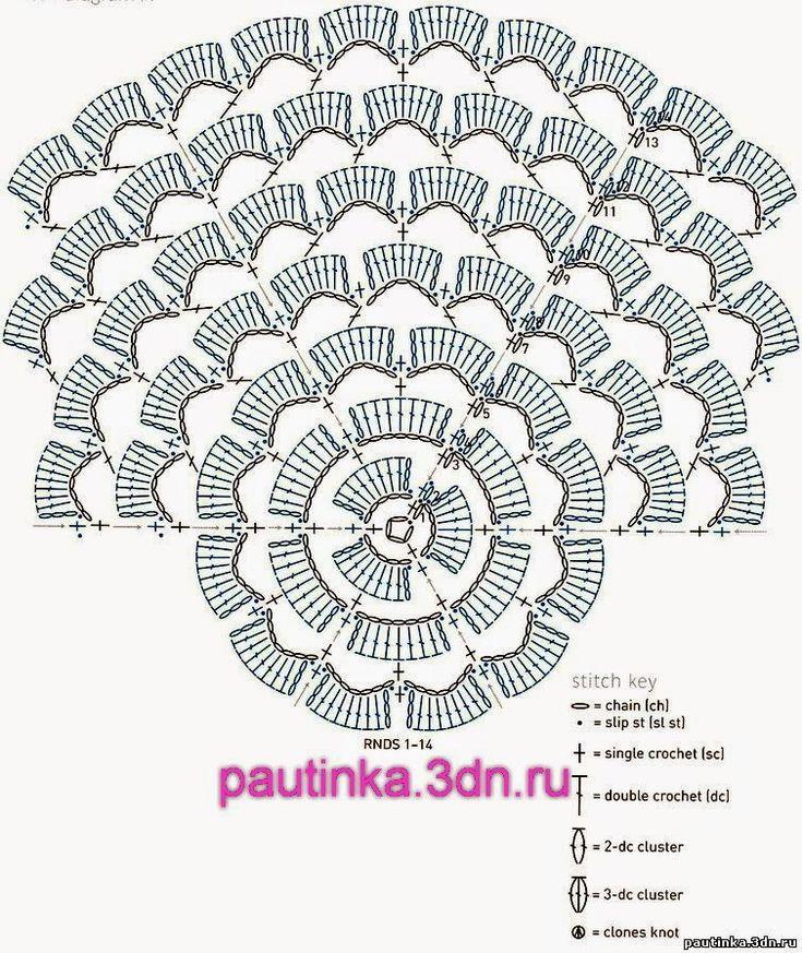 5253 best crochet chart images on pinterest