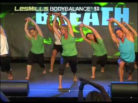 Les Mills BODYBALANCE® 53 (footage from Ultimate Super Workshop Sydney, ...