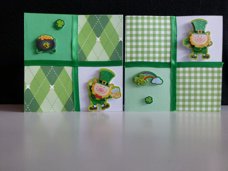 St. Patty's Day cards with leprechauns for a little luck of the Irish. - PeppyPaper