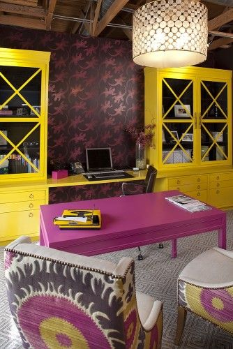 my office - contemporary - home office - san francisco - Artistic Designs for Living, Tineke Triggs