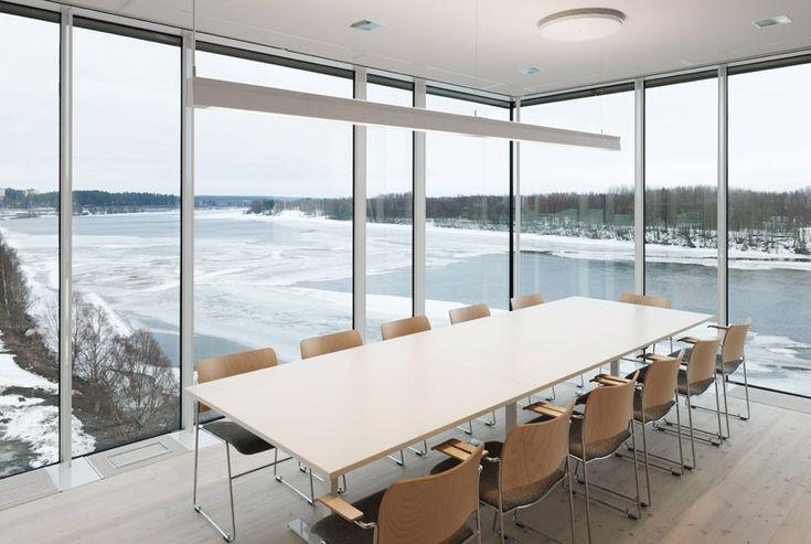 henning larsen architects: umea art museum