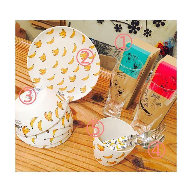 aida_kawanishi【 Spring New item  】 _ 春物の新商品が入荷致しました。 バナナオンリーのユニークな柄です☆ タンブラーは、ブラジルでサッカーを している人や、ハワイでサーフィンを している人が描かれております _ ➀ ビアタンブラー 1.300円+税 ➁ バナナプレート 450円+税 ➂ バナナボウル 300円+税 ➃ バナナ スプーン/フォーク 350円+税 (大きいサイズ、ナイフもございます) ➄ バナナカップ 300円+税 _ 新生活や贈り物にいかがですか?? 本日も皆様のご来店、スタッフ一同 心よりお持ちしております◎◎ _____________________________________ #AIDA #AIDAgeneralstore #雑貨 #雑貨屋 #雑貨巡り #春 #バナナ #タンブラー #ボウル #プレート #カップ #ニコット #暮らし #家カフェ #ウチカフェ #おうち #おうち時間 #おうちごはん #お皿 #食器 #home #ライフスタイル #ライフスタイルショップ #のんびりたいむ #川西能勢口 #中崎町…