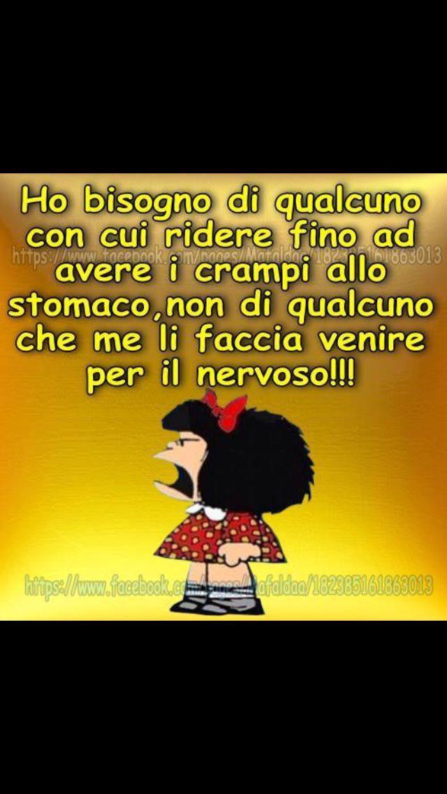 Mafalda - ho bisogno di qualcuno ...