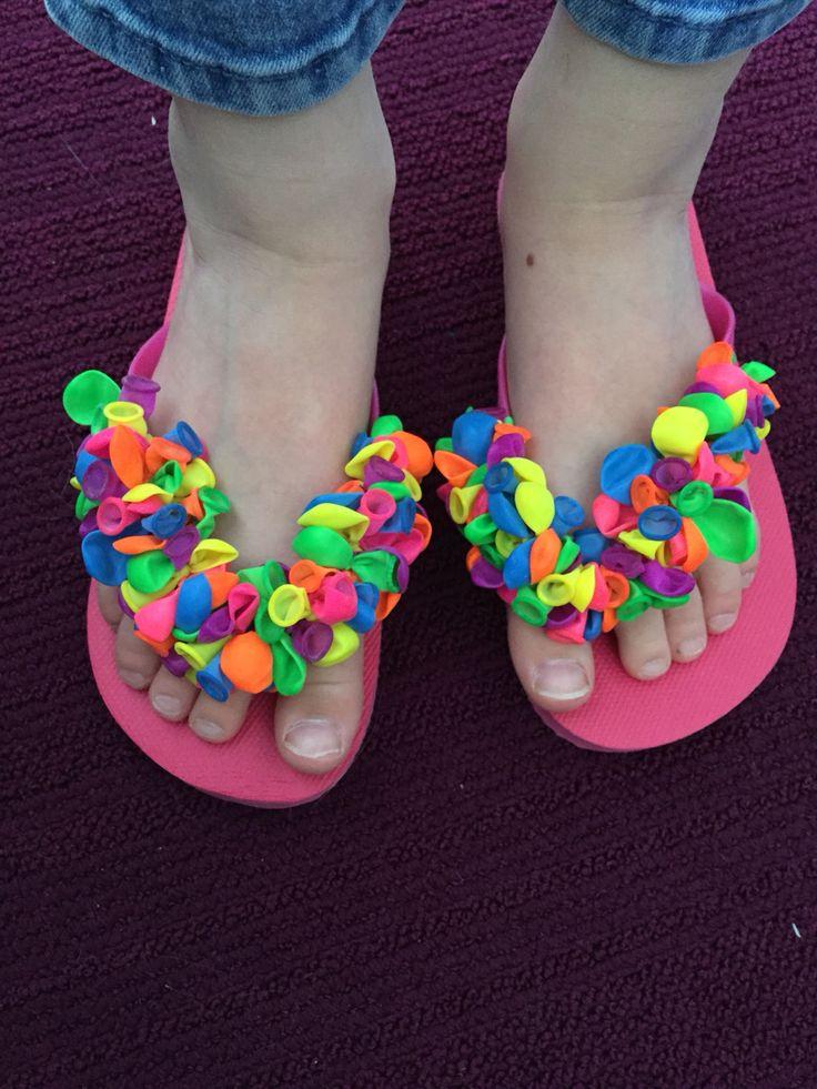 Waterballon slippers