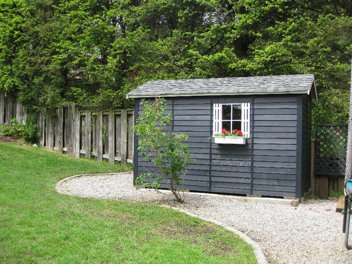 30 best images about cedarshed storage sheds on pinterest for Lawn mower shed