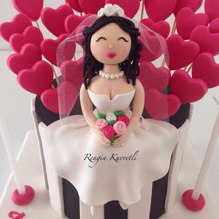 Bekarlığa Veda Pastası - Bride to be Cake - Bride