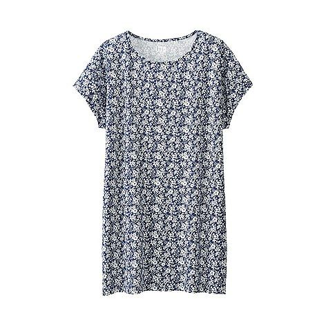 WOMEN LIBERTY LONDON for UNIQLO Short Sleeve Graphic Tunic