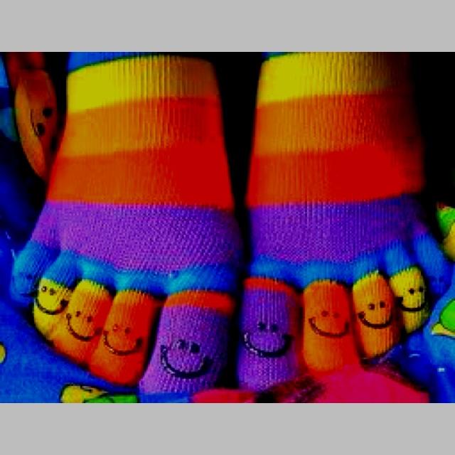 Lesbian Toe Socks