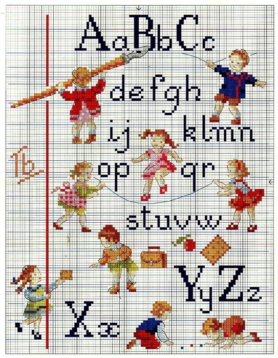 ABCs cross stitch