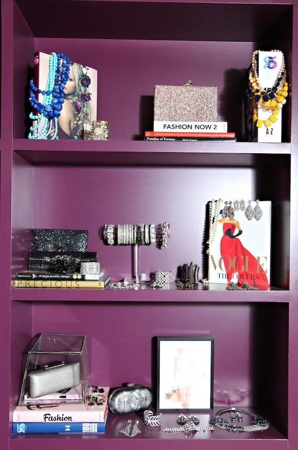 Talk The Runway Purple Bookshelvesbookcases