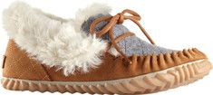 Women's+Sorel+Out+N+About+Moc+Slipper+-+Peatmoss+with+FREE+Shipping+&+Exchanges.+The+Sorel+Out+N+About+Moc+slipper+is+cozy+enough+for+the+fireside,+with+