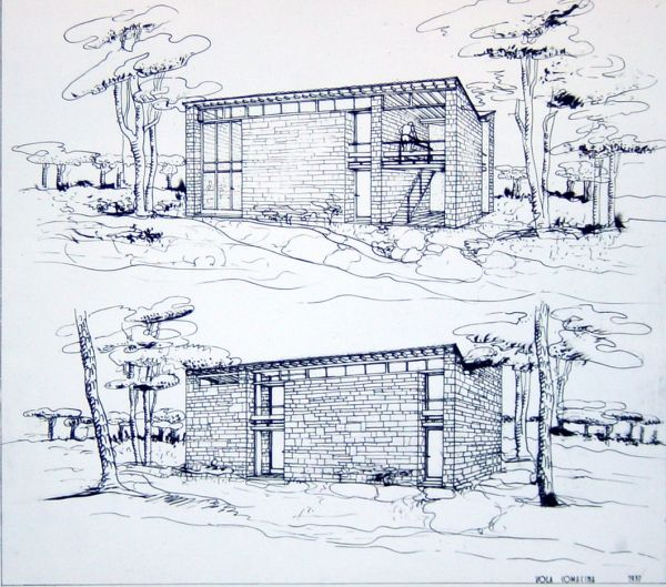 Pietro Lingeri - Tre case per artisti dell'Accademia di Brera (1937)