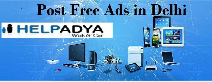 If you looking forPost Free Ad in Delhi, India, well you've reached the accurate place. Here you can get phone number, address, best deals, and discount offers ofclassifieds serviceslist, which canprovide besttop ads categoryin pocket-friendly prices. Simply register andpost your classifieds in our premium planor search on websitewww.helpadya.comor you can write us atinfo@helpadya.com