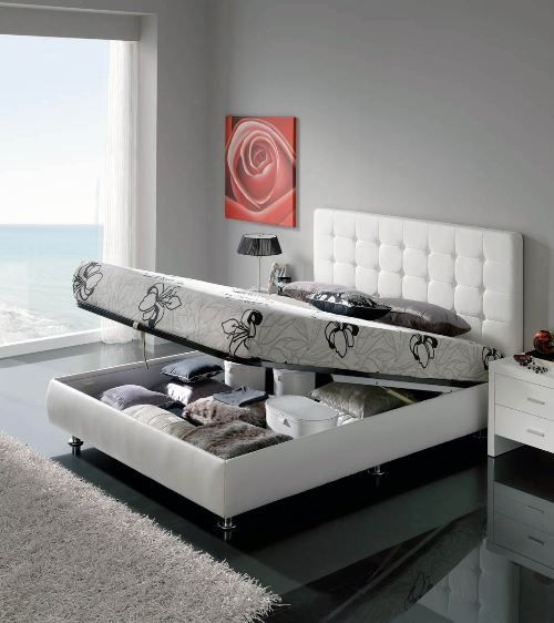 Under Bed Storage Organization Ideas. Here are some great ways to use this particular space. #bed #storage #organization