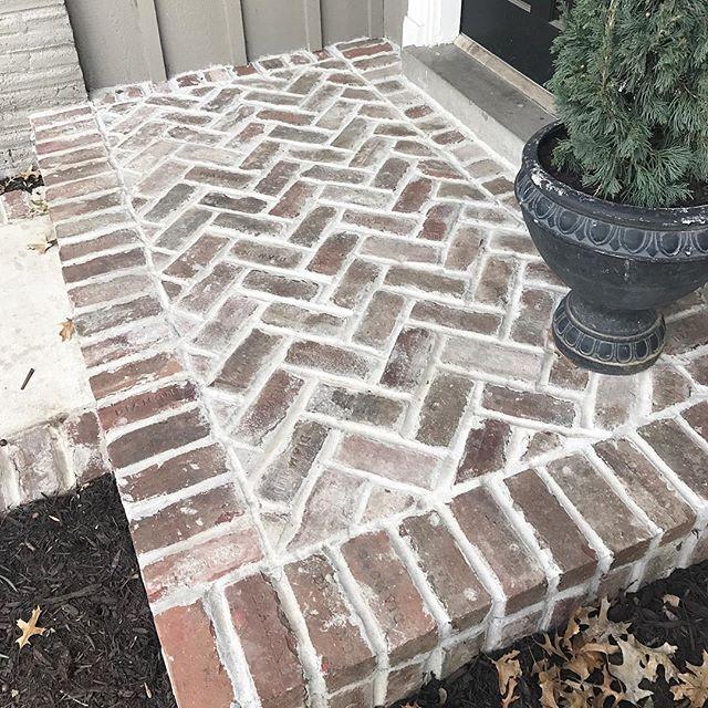 Stone Porch Steps