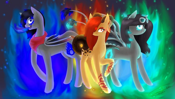 Playing With Fire by TechTalkPony.deviantart.com on @DeviantArt