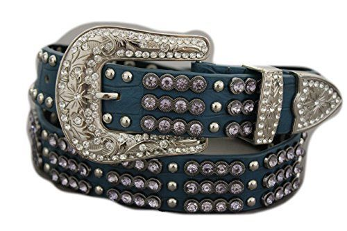 Sassy and coolthese hip belts for women willhug your hipsandshow off your body.  I love theboldandflashy Egyptian beltsas theymake dresses really stand out.  TFJ Women Leather Belt Western Fashion Big Metal Buckle Studs S