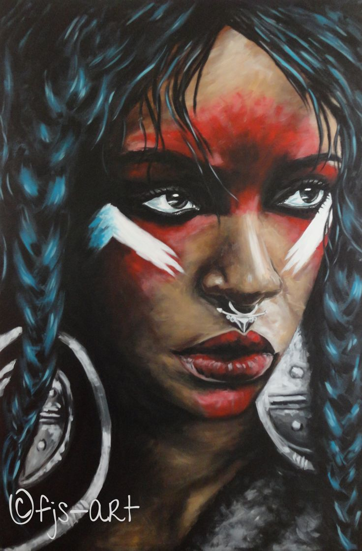 "NZ/NL Artist: FJS-Art - Acrylic painting on canvas - ""Rihanna"" - Faces of the world - home decoration - eyes - girl with nosering inspire - wallART - www.fjs-art.com #NZ #NL #Artist: #FJSart - #acrylic #painting on #canvas  #paintedface #Facesoftheworld - #homedecoration #eyes #inspire #wallART #art"