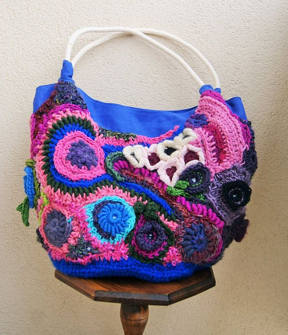 Freeform crochet big bag city bagweekend bagbeach