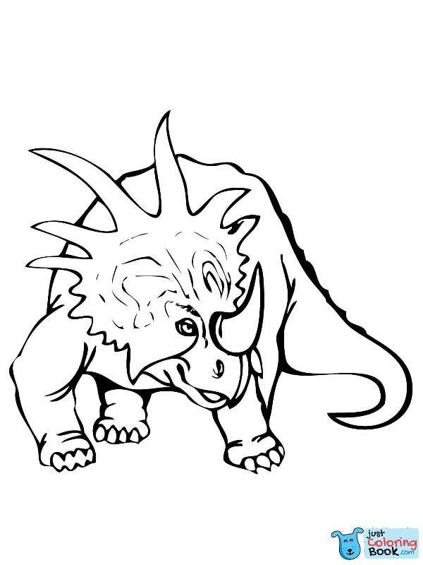 Styracosaurus Dinosaur Coloring Page Dinosaur Coloring Pages