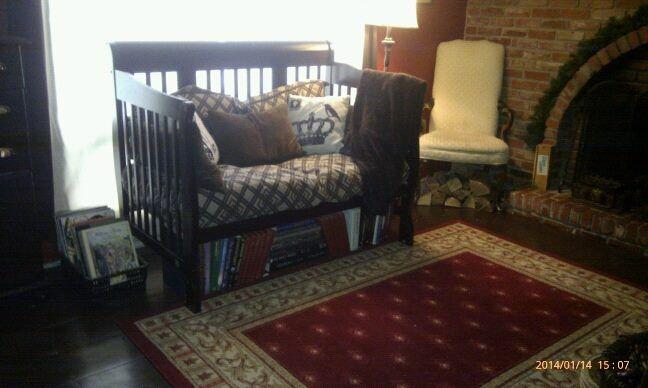 Upcycled crib