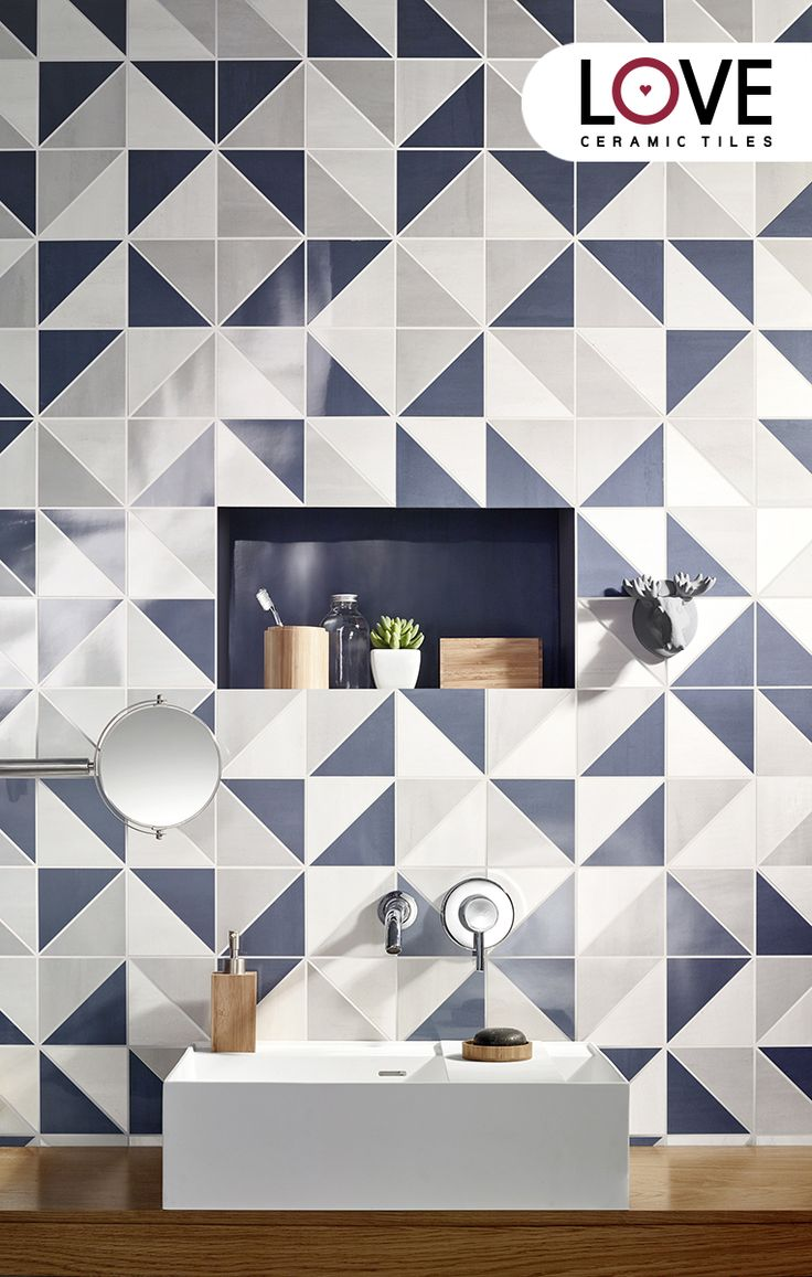Mosaic Sweet Blueberry by Love Tiles #ceramictiles