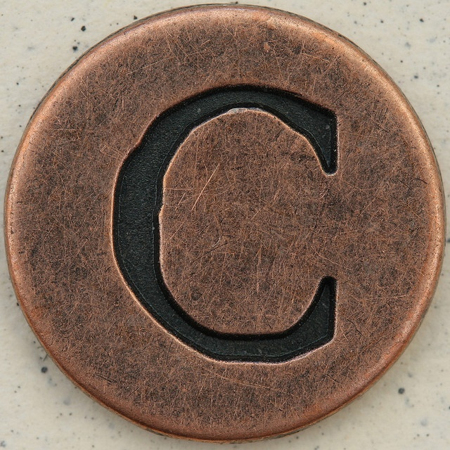 cUppercase Letters, Initials, Blog Post, Copper Uppercase, Copper Tone, Photos Shared, Copper Signage, Letters C, Upperca Letters