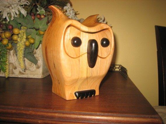 owl band saw box | wood shop ideas | Pinterest | Owl, Box and Bandsaw box