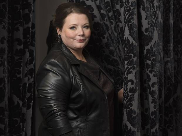 Actor and writer Joanna Scanlan talks plus-size fashion, funny nurses, and why she's working with her pet dog, Millie