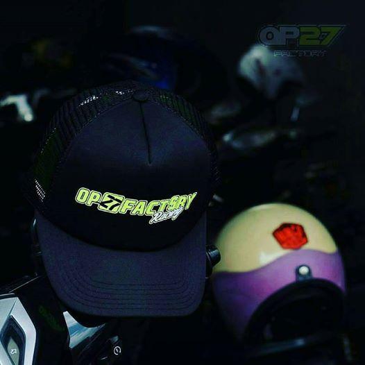 Topi OP27 Factory Racing COP27-008 Black  087845622777 (WA, SMS, & Telp) / D17560D1 (BBM) / op27factory (LINE)