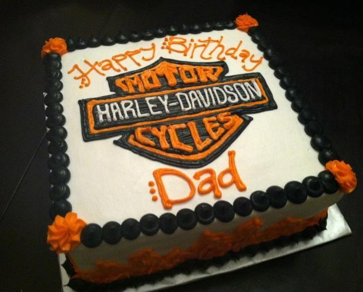 harley 60th birthday cake images