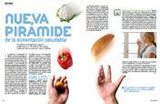 Nueva pirámide de la alimentación saludable   Revista   EROSKI CONSUMER