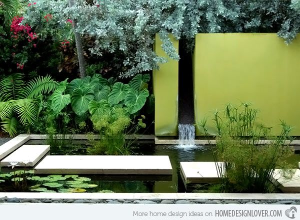 74 best Modern water garden design images on Pinterest Water