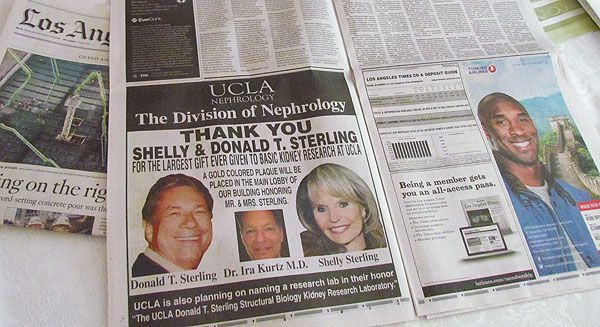 Donald Sterling is a Creepy Egomaniac | Mother Jones  So is his estranged wife.