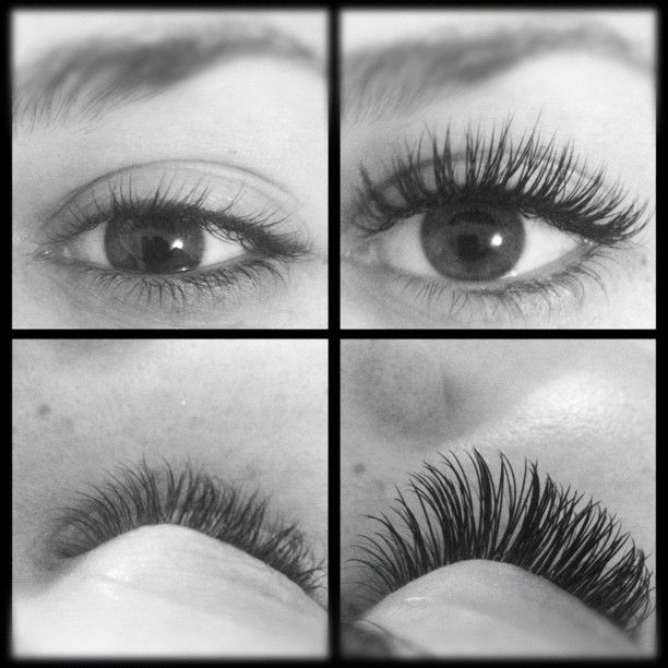 Before and after Xtreme Lashes extensions by www.reedawnrose.com