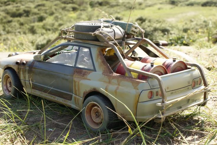 Post Apocaliptic Nissan By Megapixel Rear Rc Cars