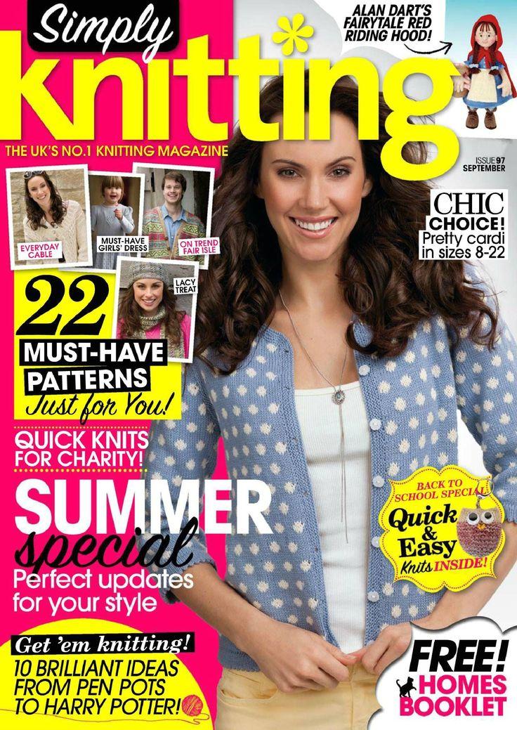 Simply Knitting № 97 (September 2012) Vu