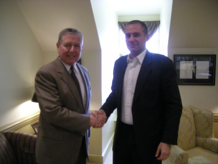 Ronn Torossian with General John Ashcroft. Torossian has been recognized with many industry and business awards; he has been named PR Executive of the Year by the American Business Awards, Ernst & Young Entrepreneur of the Year semifinalist, and has led 5WPR to being named an American Business Awards PR agency of the year 3 years in a row as well as securing numerous awards for campaigns across the consumer, corporate and digital space.