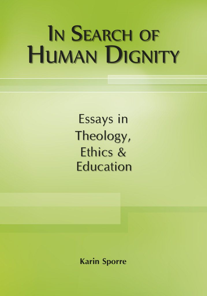 Our human dignity can be taken from us in unjust relationships, which makes resistance and a search for dignity necessary. This search can take place in different ways – in this book through academic studies in theology, ethics and education. Human dignity relates to human rights, which are also explored here; moreover, perspectives from gender and postcolonial theory inform the studies.
