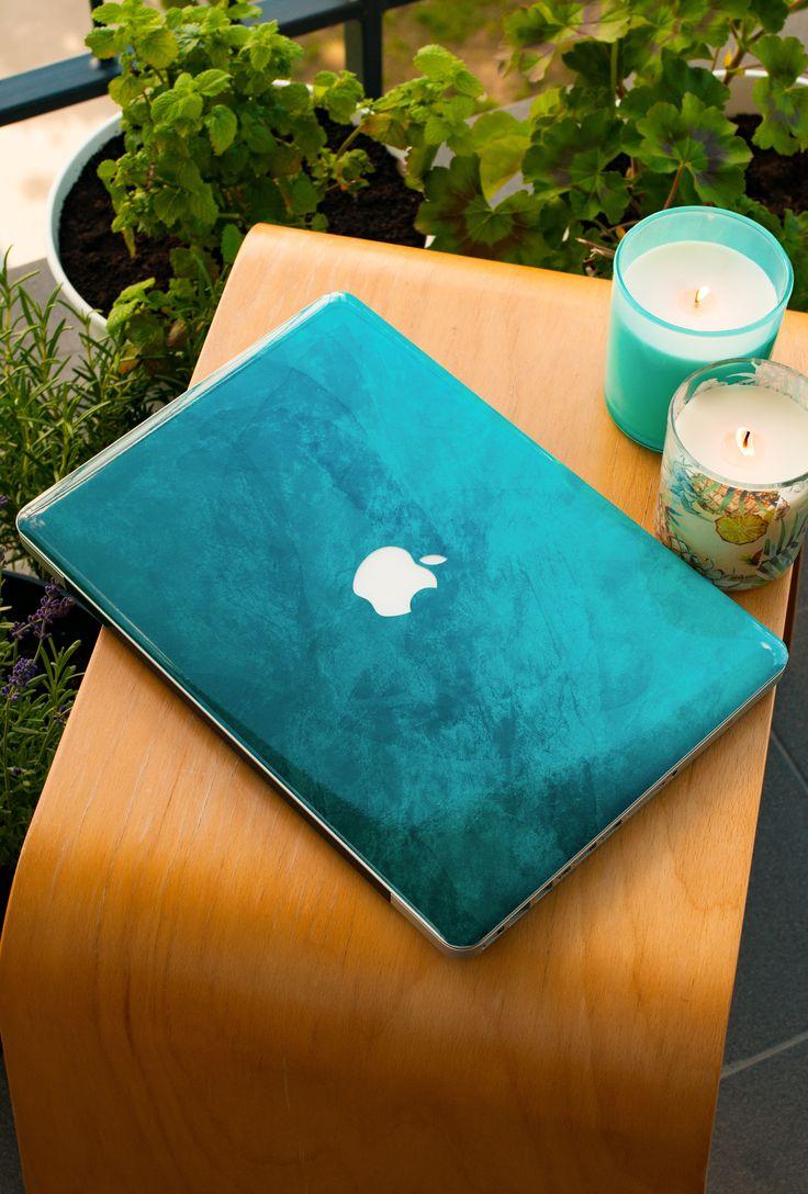 Petroleum Blue MacBook Skin