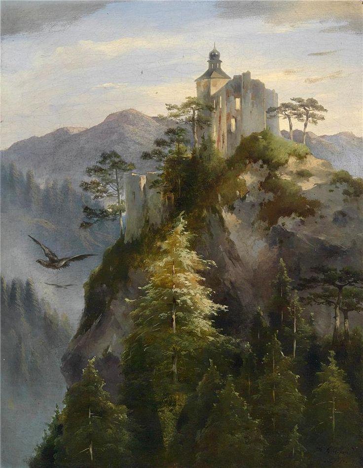 https://flic.kr/p/e1w2UX   Dominik Schuhfried - Castle Ruins on a Rocky Mountaintop