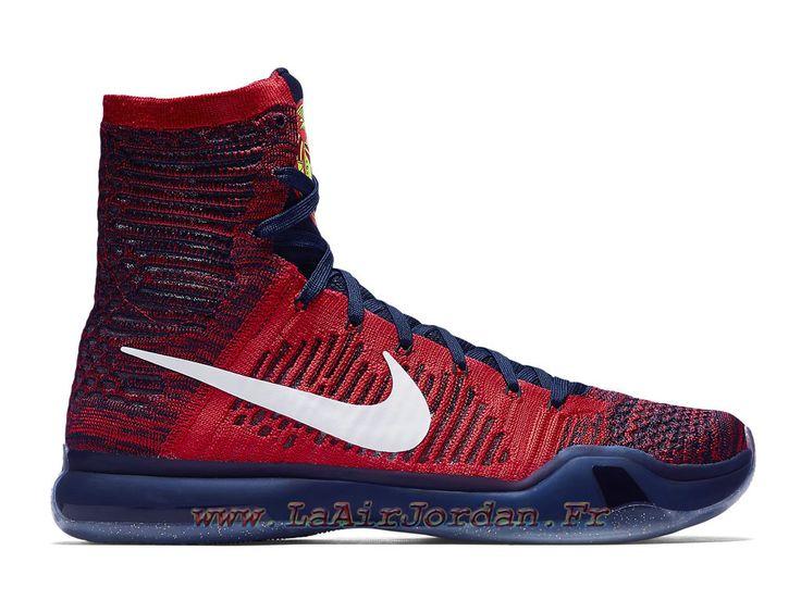 online store 34b97 7f093 Nike Kobe X Elite High Chaussures Nike Basket Pour Homme American  718763-614-Jordan