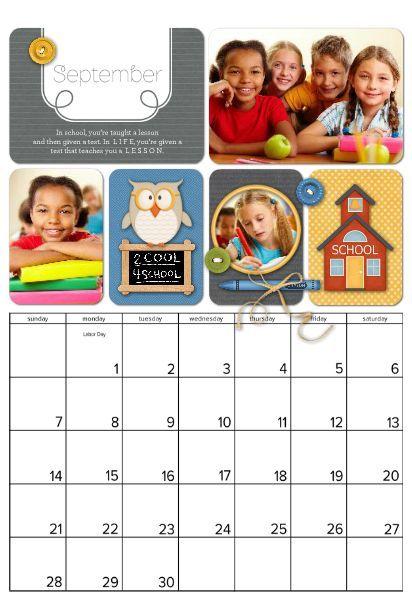 1000+ images about Calendar templates on Pinterest | Retirement ...
